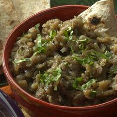 Eggplant-Shallot Dip