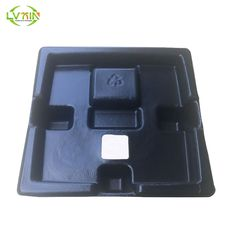 Free design black eco-friendly inner electronics trays molded pulp packaging
