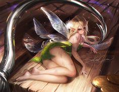 Tinker by sakimichan.deviantart.com on @DeviantArt