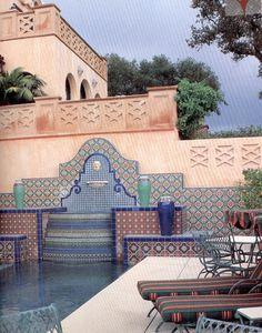 Beautiful Spanish Fountain!