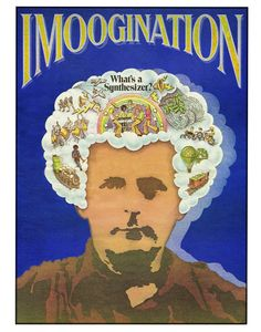 $22 Enter a world of Imoogination with this psychedelic 11 x 14 poster celebrating Moog Music's first company newspaper published in 1976.