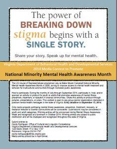 148 Best Dbhds National Minority Mental Health Awareness Month Media