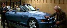 Q hand over the new BMW Z3