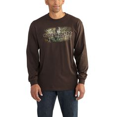 84a141f7ed5 Workwear Graphic Camo 1889 Long Sleeve T-Shirt · CarharttWorkwearCamoGearsCamouflageGear  ...