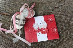Polly kreativ: Es ist warm! - Envelope Punch Board Umschlag und gehäkelte Ostereier