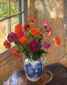 James Bolivar Manson (1897-1942), Zinnias