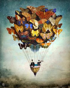 #Fly Away #Art Print