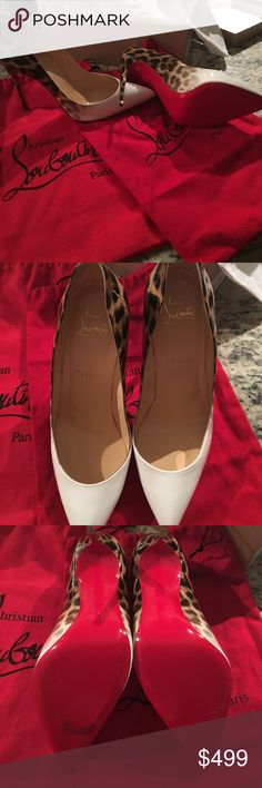 Christian Louboutin Pigalle Follies 100 Patrnt Degrade Leop (Only had them on 3 times) Christian Louboutin Shoes Heels