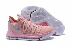 "the best attitude de6a5 23d16 Men s Nike KD 10 ""Aunt Pearl"" Pearl Pink White-Sail AQ4110-600"