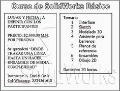 Curso SolidWorks  #Curso, #Solidworks