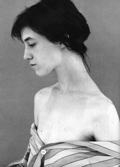 Charlotte Gainsbourg - Anglo-French actress and singer. Photo by Jean-Baptiste Mondino.