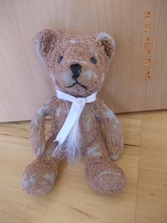 Found on 20/12/2014 @ Dasing, Messerschmittstraße . Teddy gefunden in Dasing Nähe Netto / Aldi. Hoffe sehr, den Besitzer zu finden.... Visit: https://whiteboomerang.com/lostteddy/msg/7zif2h (Posted by C D on 25/12/2014)