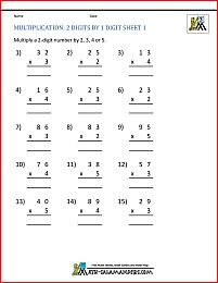 Multiplication Facts Worksheets - Understanding Multiplication to Multiplication Facts Worksheets, Multiplication Practice, Multiplication Problems, 3rd Grade Math Worksheets, Grammar Worksheets, Math Facts, Times Tables Worksheets, Free Printable Math Worksheets, Basic Math