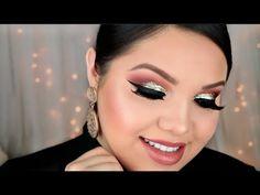 Drugstore Holiday Glitter Makeup Tutorial - YouTube