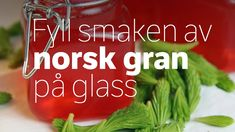 Granskuddsirup Recipe Boards, Canning Recipes, Pesto, Cooking, Desserts, Jelly, Food, Drinks, Nature