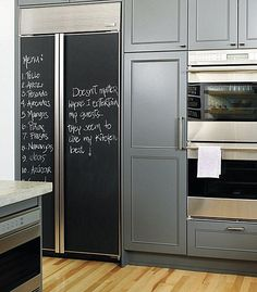chalkboard paint wall | Chalkboard Paint Ideas: When Writing on the Walls Becomes Fun ...