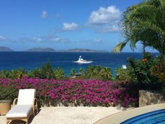 It's not the British Virgin Islands without seeing some yachts from your Trunk Valley Estate room.