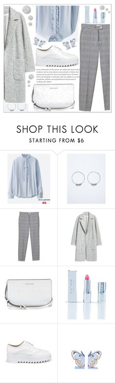 """style"" by lena-volodivchyk ❤ liked on Polyvore featuring Uniqlo, Lane Bryant, MANGO, Ice + Jam, Pedder Red and Topshop"