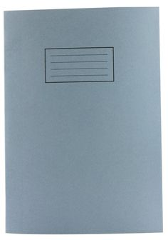 Silvine Exercise Book Plain 75gsm 80 Pages A4 Blue Ref EX114 [Pack of 10]: Amazon.co.uk: Office Products