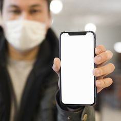 Defocused man with medical mask holding … Poster Background Design, Influenza Virus, Ads Creative, Graphic Design Tips, Infographic Templates, Plexus Products, Free Photos, Instagram Story, Fashion Dolls