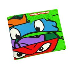 Teenage Mutant Ninja Turtle Wallet, Bifold, and Card Holder For Boys
