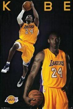 Kobe Bryant Los Angeles Lakers Nba Sports Poster Sports Poster - 33 x 48 cm Kobe Bryant Nba, Lakers Kobe Bryant, Dez Bryant, Fitness Video, Sport Fitness, Michael Jordan, Kobe Bryant Family, Kobe Bryant Pictures, Nba Sports