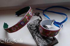 MaZulu / čelenka a náramok / folk, folklórny/ Folk, Popular, Fork, People
