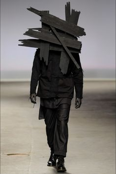 #fashion #black #surreal