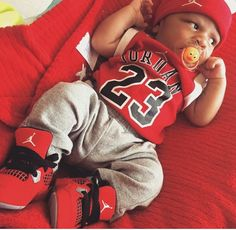 c6ebebe02081 Follow For More Popping Pins Pinterest   BlackRose Baby Jordan Outfits