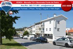 VENDA Moradia T3+1 Renovada Ponte da Pedra Moradia renovada com bons acabamentos…