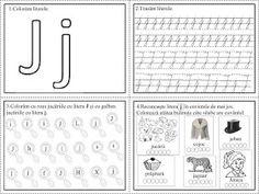 EDUCATIA CONTEAZA: Literele I, J, K Thing 1, Math Worksheets, Beauty Makeup, Diy And Crafts, Alphabet, Preschool, Bullet Journal, Classroom, Lettering