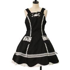 ♡ BABY THE STARS SHINE BRIGHT ♡ Pocket jumper skirt http://www.wunderwelt.jp/products/detail8313.html ☆ ·.. · ° ☆ How to buy ☆ ·.. · ° ☆ http://www.wunderwelt.jp/user_data/shoppingguide-eng ☆ ·.. · ☆ Japanese Vintage Lolita clothing shop Wunderwelt ☆ ·.. · ☆ #btssb