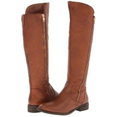 $83.97 Steve Madden Shawny (Cognac Leather) Women's Dress Boots