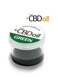 Three grams of Cannabidiol Enriched Green CBD Hemp Oil