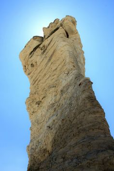 (425)Pillar, Monument Rocks National Natural Landmark, Gove County, Kansas