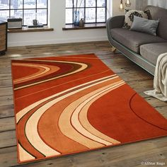 AllStar Rugs Easy to clean and vacuum (can be steam cleaned or spot cleaned with a diluted soap solution). Will upgrade the look and feel of your home or office. Unique modern design that would look great on any type of flooring. Rug Size: Rectangle x