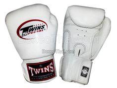 Boxhandschuhe Twins Leder Modell Retro