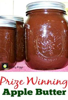 The post Prize Winning Slow Cooker Apple Butter appeared first on Lovefoodies. Source link The post Prize Winning Slow Cooker Apple Butter appeared first on Simply Recipes by Jessica Illya. Slow Cooker Apples, Slow Cooker Recipes, Crock Pot Slow Cooker, Crockpot Meals, Butter Crock, Crockpot Apple Butter, Canned Apple Butter, Pumpkin Butter, Homemade Apple Butter