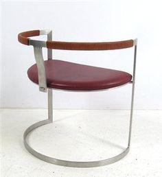 Jørgen Kastholm & Preben Fabricius, Armlehnstuhl Sculpture Chair von BoEx