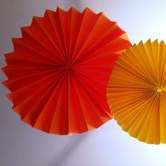 Make Paper Fan Decorations - Party Pieces Blog & Inspiration