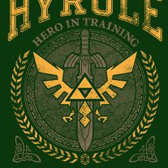 Hyrule University tee shirt.  I like this one better.