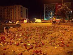 Ruhrgebietmitte hat KulturPOTTential - betreibt OSTWEST Kulturtransfer: Taksim Bilder Blumen für die Toten