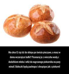 Ekstra sposób na reanimację czerstwego pieczywa! Polish Recipes, Food Design, Design Ideas, Food Hacks, Home Remedies, Baked Potato, Fun Facts, Life Hacks, Food And Drink