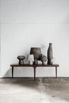 A peek at the first collection of furniture, lighting and home accessories from new Danish interior-design brand 101 Copenhagen. Danish Interior Design, Danish Design, Home Interior, Interior Styling, Nordic Design, Scandinavian Design, Design Design, Scandinavian Interiors, Vases