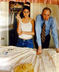 "Tina Barney, ""Marina and Peter"" (1997) | photograph | chromogenic print"