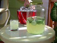 Cucumber Lemonade Gin Punch Recipe : Alton Brown : Food Network