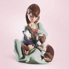 Statuina realizzata a mano da Juan Huerta per Lladrò - 135 http://ift.tt/2oujSzR #lladrospringsummer17 #lladro #juanhuerta #Figure #figures #Porcellana #ceramica #designlovers #designer #design