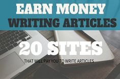 Yes, you can make money writing even if you& not a professional writer. Whether you have just dropped out from the workforce, are a full-time housewife struggling with the household budget, a student looking for a Earn More Money, Ways To Earn Money, Earn Money Online, How To Make Money, Make Money Writing, In Writing, Writing Advice, Writing Ideas, Writing Websites