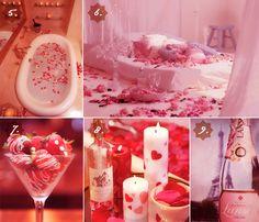 Decorating the Honeymoon Suite