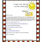 "We've seen the posters and signs with 75 ways to say ""good job!""  These posters have been QR Code Enabled for a fun 21st century techie twist!  You..."